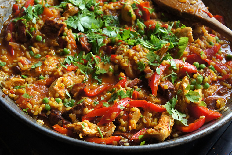 chicken-paella